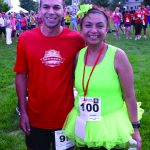 Assessment Counselor David Snow and Senior Access Counselor Christina Gloria smiling for picture at Rosecrance Run