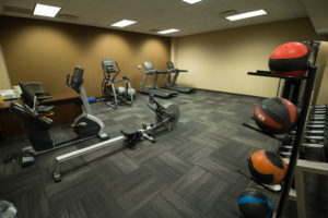 Rosecrance exercise room